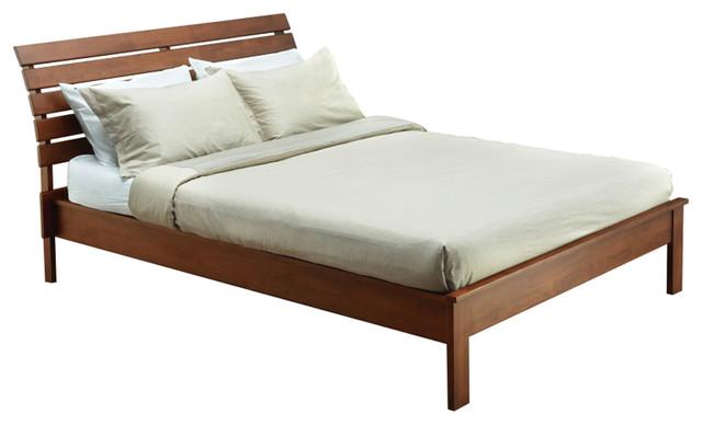 California Bed, Cocoa, Queen.