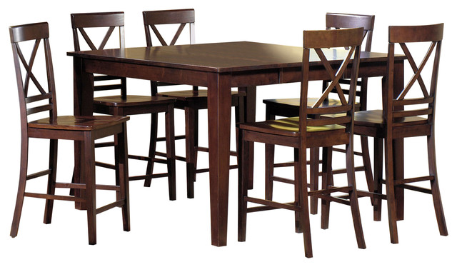Winston Counter Dining Table Transitional Dining  : transitional dining tables from www.houzz.com size 640 x 374 jpeg 74kB