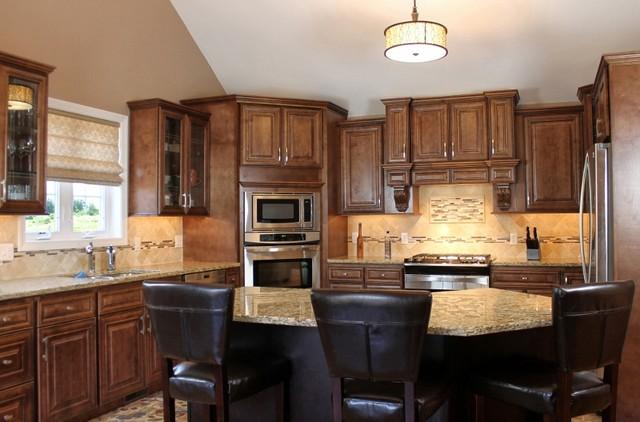 Java Maple Glaze - RTA in Stock Kitchen Cabinets ...