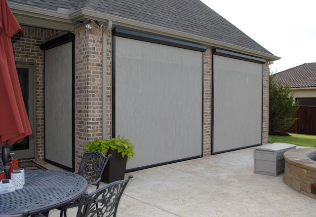 Existing Home Motorized Screens
