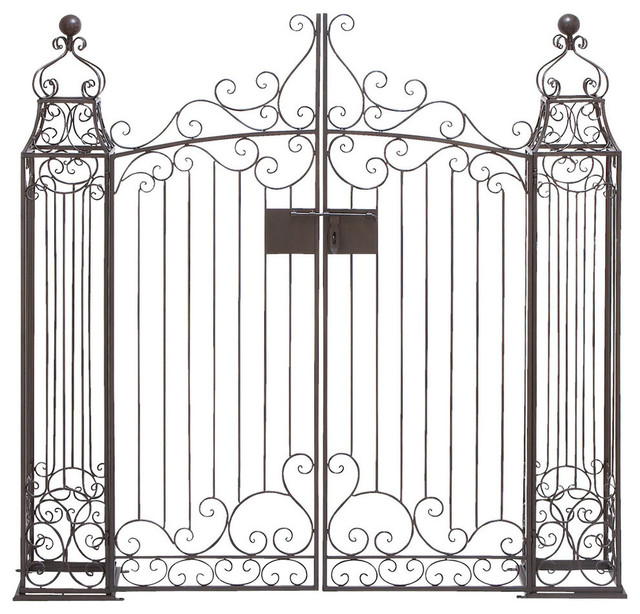 Metal Garden Gate Modern Dog Gates
