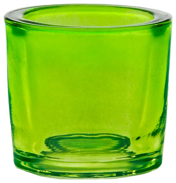 d4245abf8517 Couronne Co. 2.5 oz Heavy Glass Votive Candle Holder, Lime