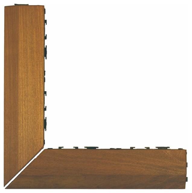 Handydeck Ipe Corner Wood Deck Tiles Amp Reviews Houzz