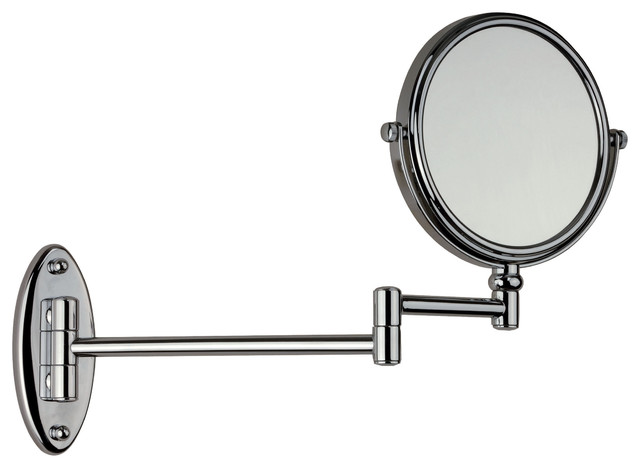 Wall Mounted Double Sided Adjustable Cosmetic Makeup Magnifying Mirror, 3X