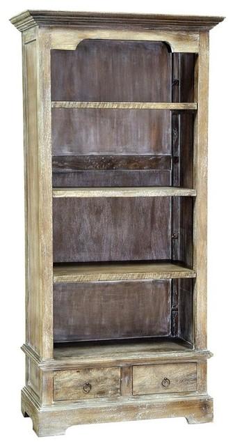 Small Rustic Bookcase.