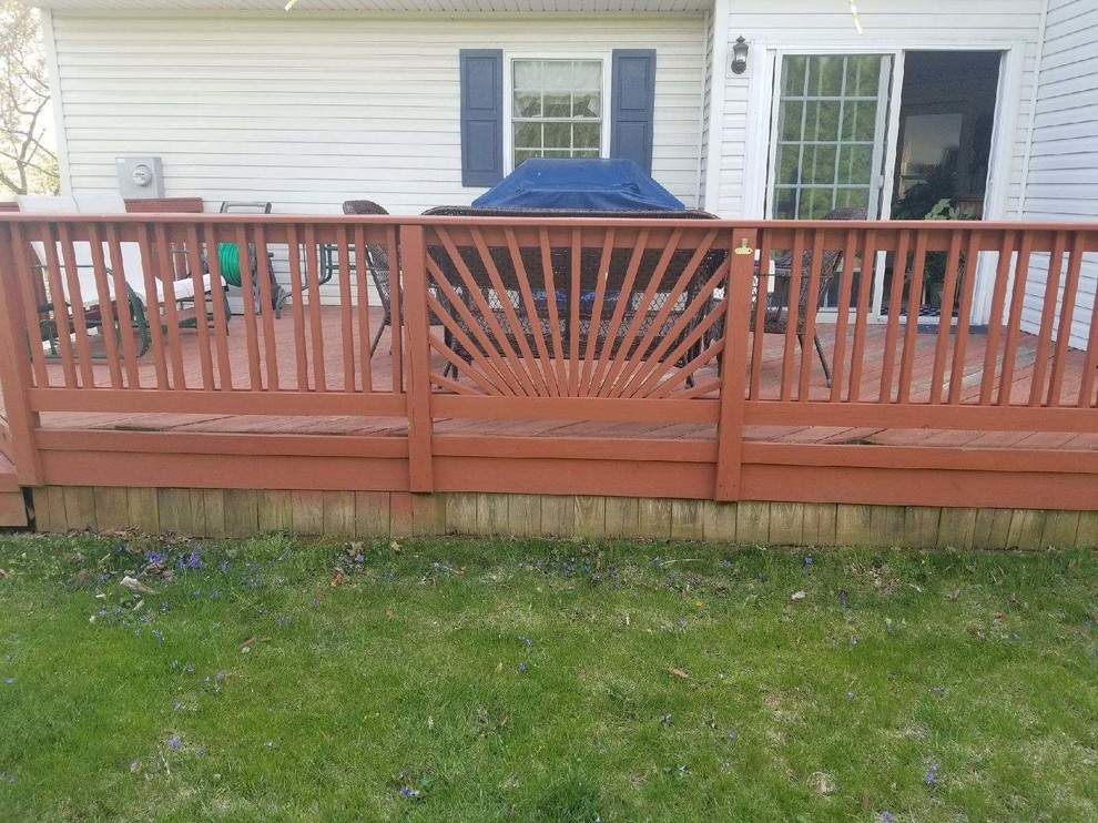 Deck Replacement - from Wood to Composite