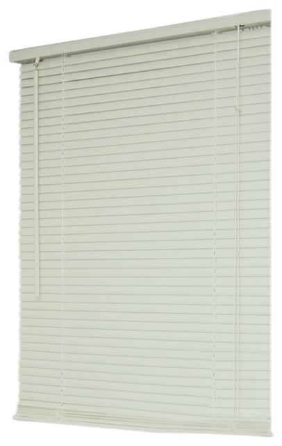 Moshells Moshells Home Decor 27 X64 Mini Blind White Vertical Blinds Houzz