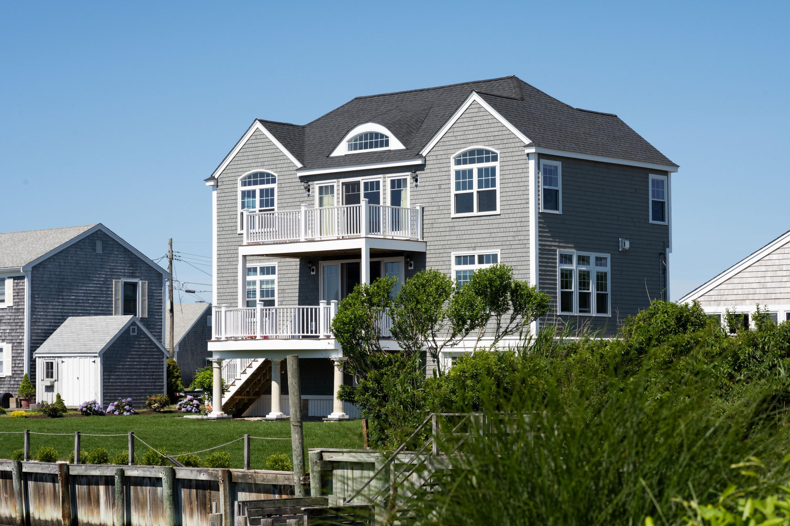 Seaside Shingle Villa