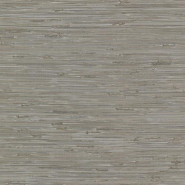 Fiber Grey Weave Texture Wallpaper Swatch.