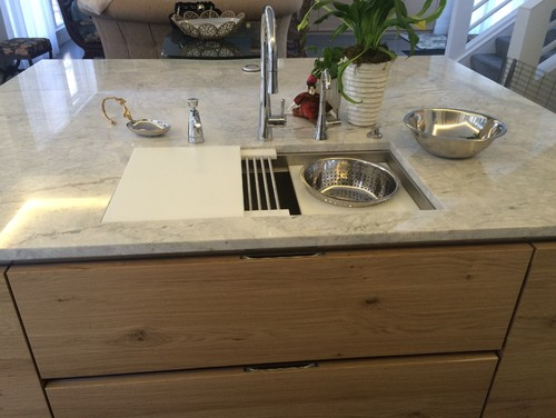 My New Kitchen With 3 Foot Galley Sink