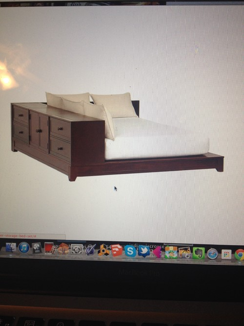 . Need an alternative to ultimate dresser storage bed