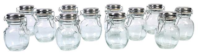Orcio Spice Jars, Set Of 12.