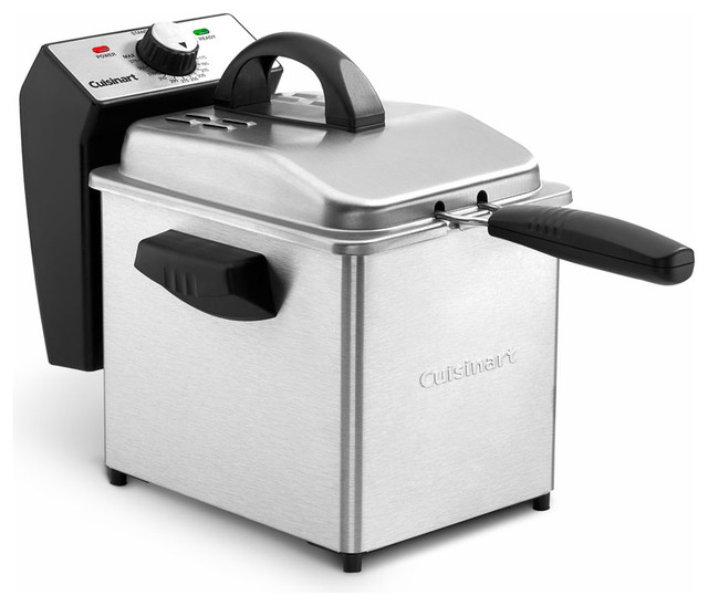 Cuisinart compact 2 qt deep fryer deep fryers houzz Modern home air fryer