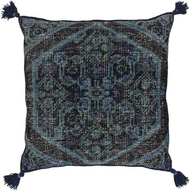 Zahra Navy Contemporary Decorative Pillows By CeCe Me Unique 30 X 30 Decorative Pillows