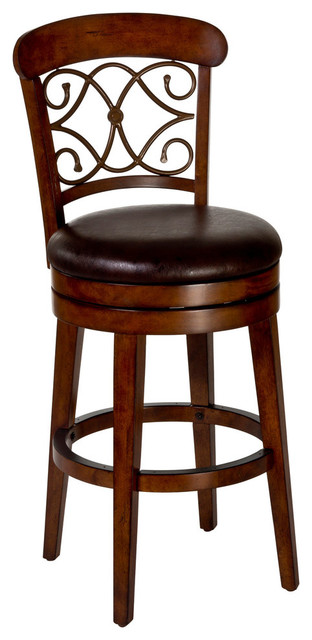 Hillsdale Bergamo Swivel Counter Stool Amp Reviews Houzz