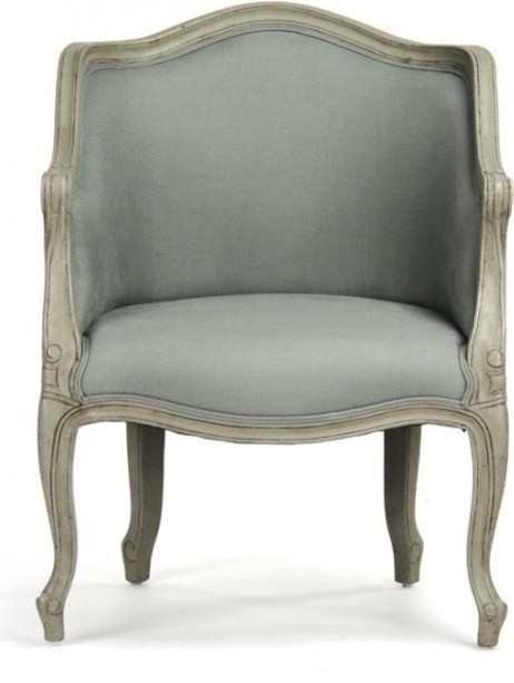 Miraculous Club Chair Pierre Sage Green Linen Birch New Gmtry Best Dining Table And Chair Ideas Images Gmtryco