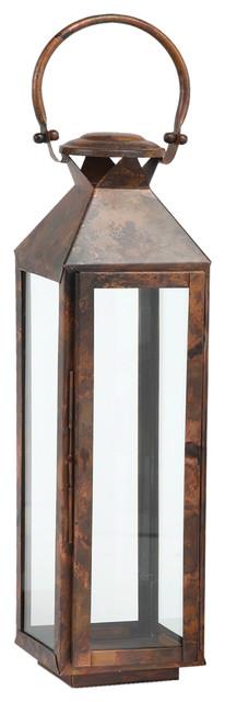 Classic Mogador Lantern, Burnished Copper