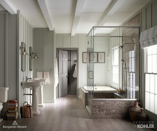 Farmhouse Bathroom farmhouse-bathroom