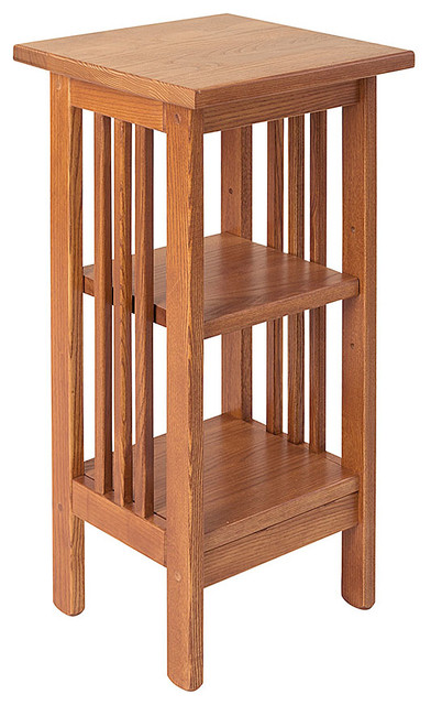 Manchester Wood Inc Mission Pedestal Stand 24