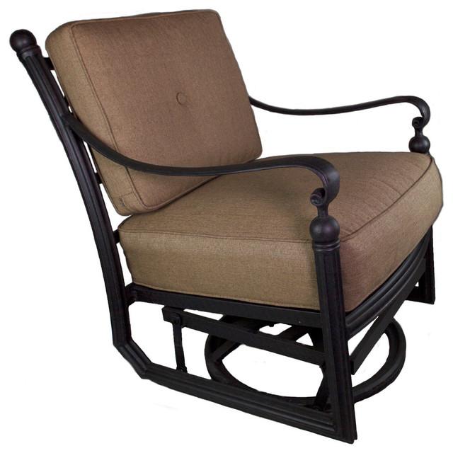 Strange Barcelona Swivel Rocer Club Chair With Cushion Creativecarmelina Interior Chair Design Creativecarmelinacom