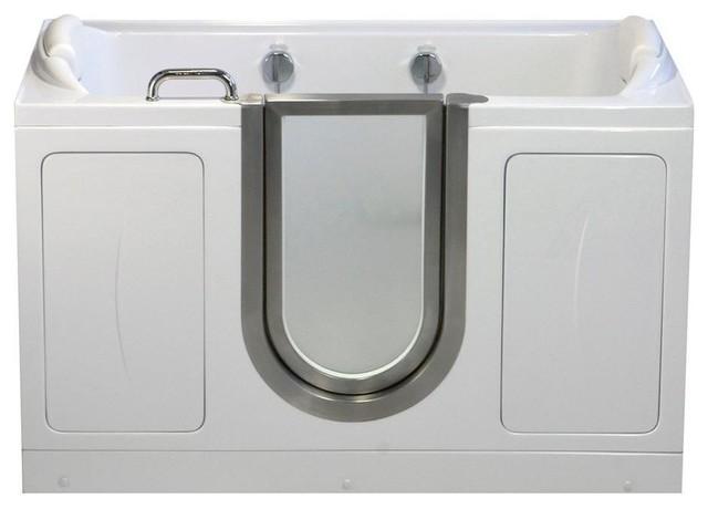"""60""""x30"""" Companion Walk-In Acrylic Bathtub, Soaking."""