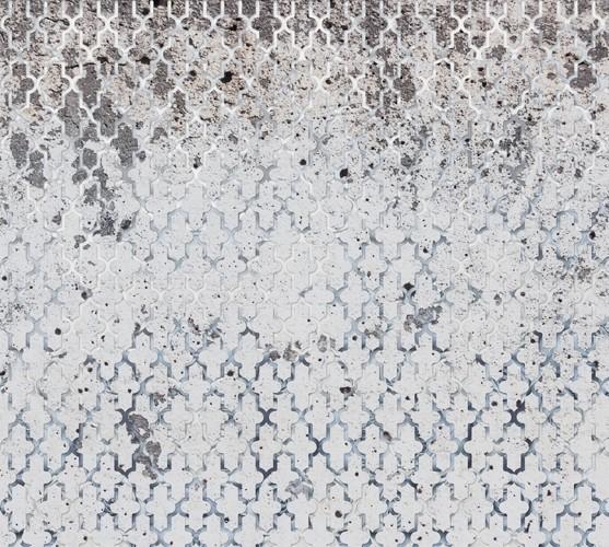 Weathered Mirage Mural Wallpaper, Sample.