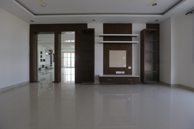 Simple Tv Units Modern Hyderabad By Studio361degrees