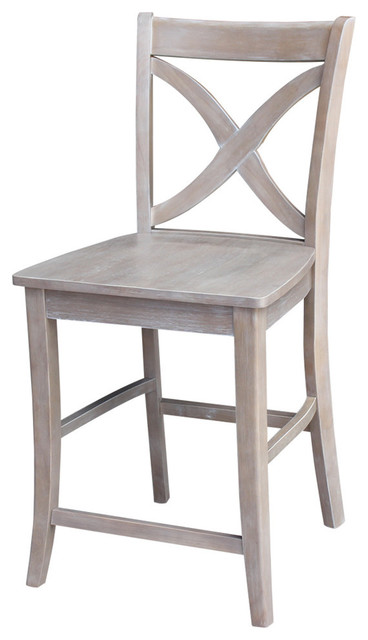 Cosmo Cross-Back Counter Stool.
