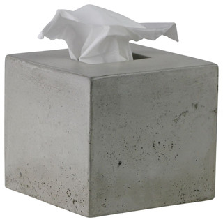 Concrete Tissue Box Cover Modern Holders By Rough Fusion