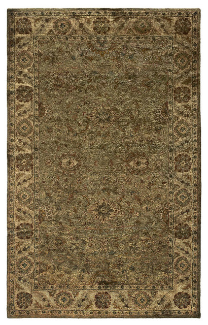 Rizzy Home Rizzy Home Shine Woolen Rug Khaki Color 9