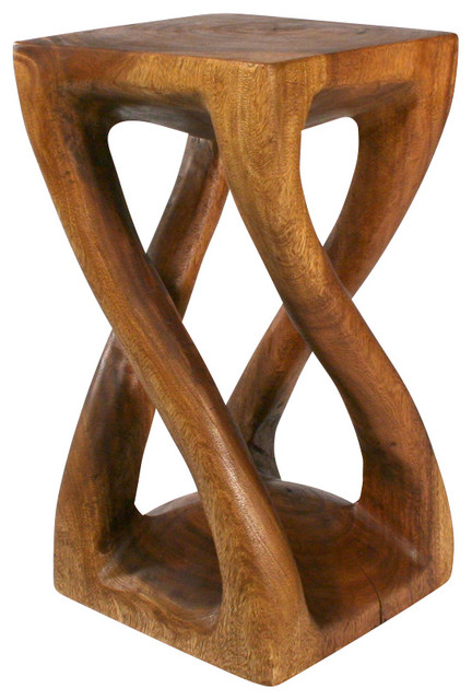 "Vine Twist Table, 14""x23""."