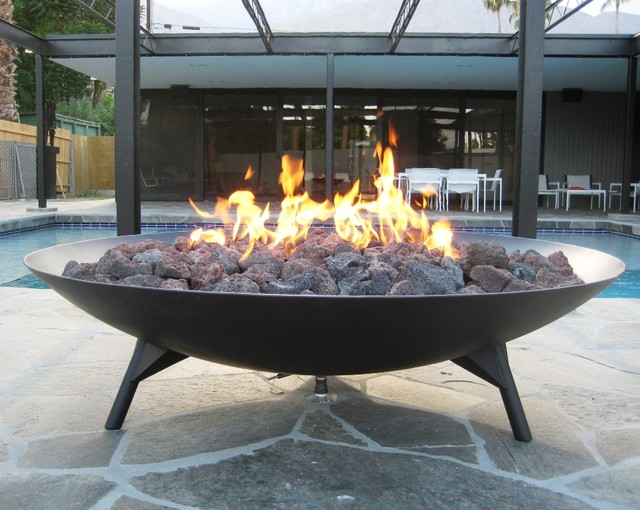 "Metalwork: Large 53"" Fire Bowl"