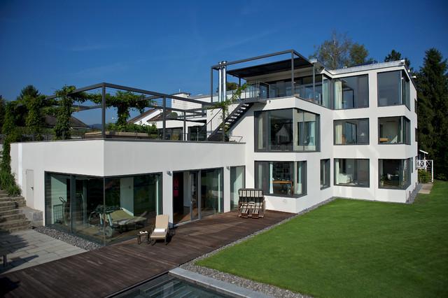Moderne villa bei zürich modern sonstige von architekturbüro