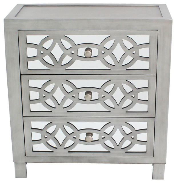 """28"""" Glam Slam Chest Of Drawers."""