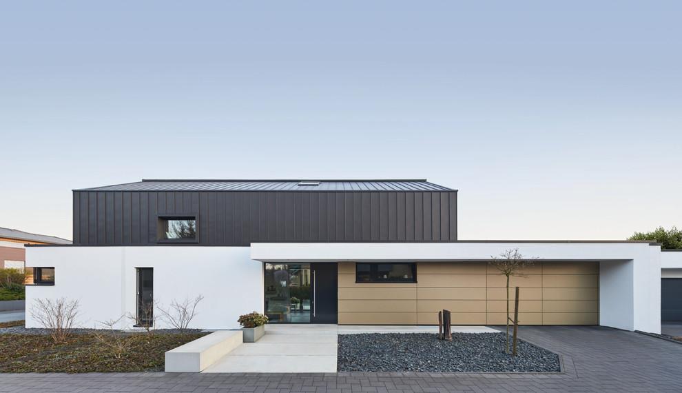 Neubau eines Wohnhauses mit zwei Wohneinheiten