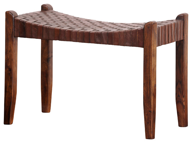 Saddler Bench Southwestern Accent And Storage Benches
