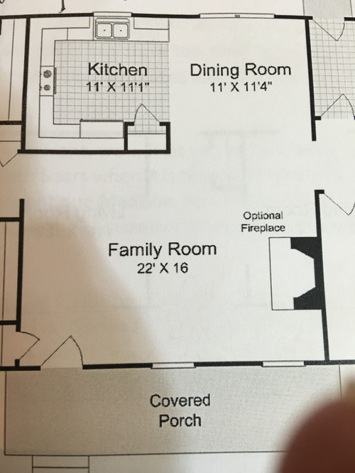 Need help with 11x11 open kitchen layout for 11x11 room layout