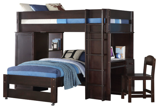 twin size loft bed dimensions bunk mattress kmart xl wood chair transitional beds