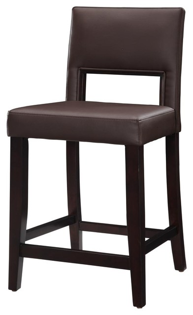 linon home decor vega counter stool linon home decor counter stool 24 x u dk 10 psev35041 13519