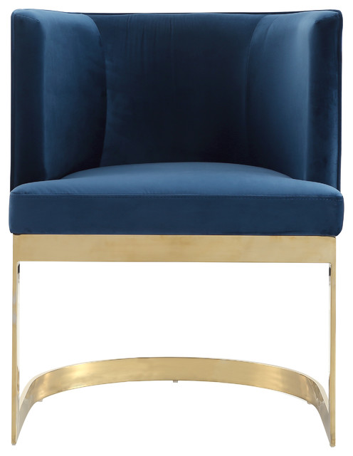 Bismuth Velvet Accent Chair, Pacific.