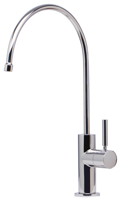Drinking Water Dispenser Faucet Polished Chrome Contemporary - Water filter dispenser faucet