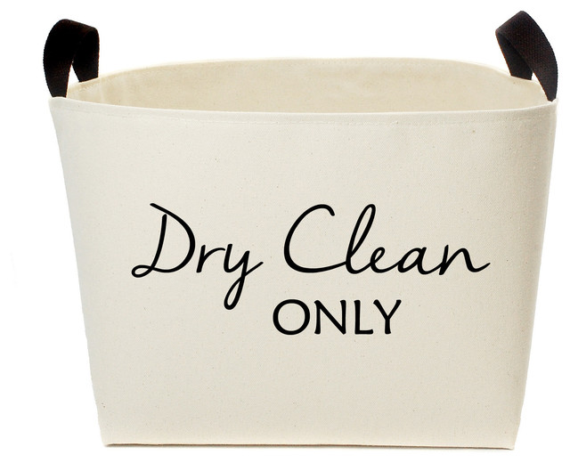 "Matera ""dry Clean Only"" Laundy Basket."
