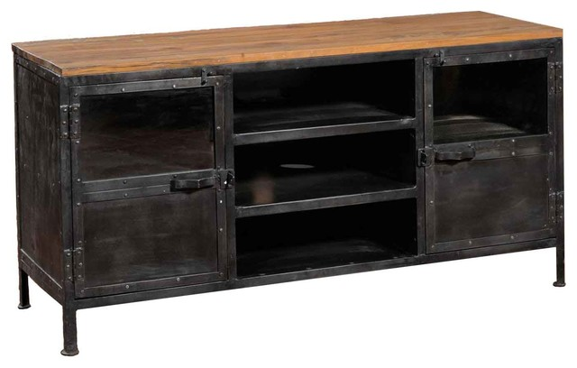 Depot Tv Stand Industrial Entertainment Centers And Tv