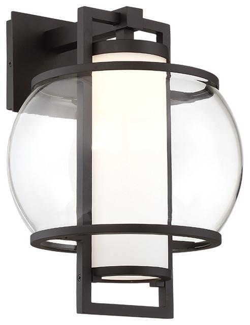 Modern Outdoor Lighting Design: Lucid LED Outdoor Wall Light