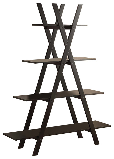 Oxford A Frame Bookshelf Black