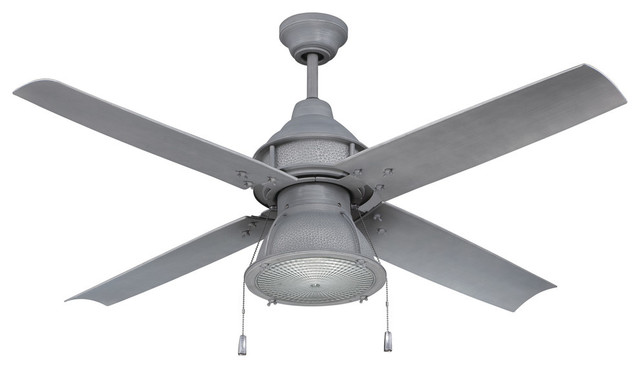 Craftmade Par52agv4 Port Arbor 52 Ceiling Fan, Pull Chain And Light Kit.