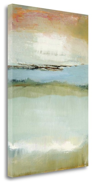 """floating World"" By Caroline Gold, Giclee Print On Gallery Wrap Canvas."