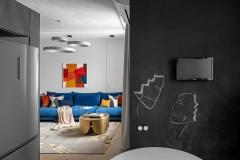 Houzz тур: Квартира для большой семьи дизайнера