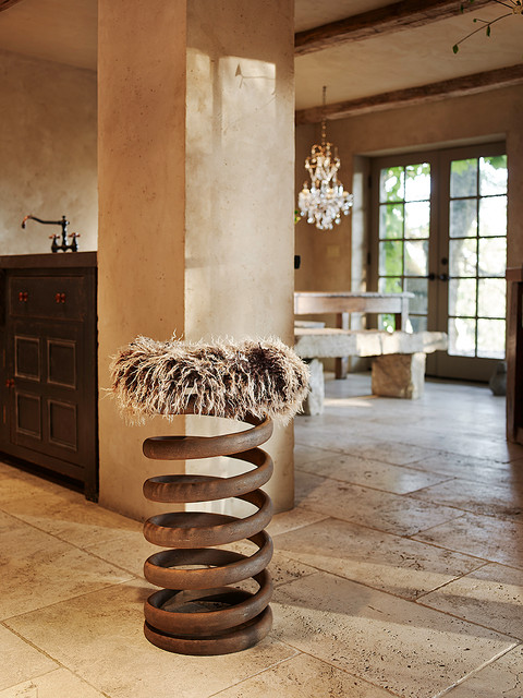 Spring Stool eclectic kitchen
