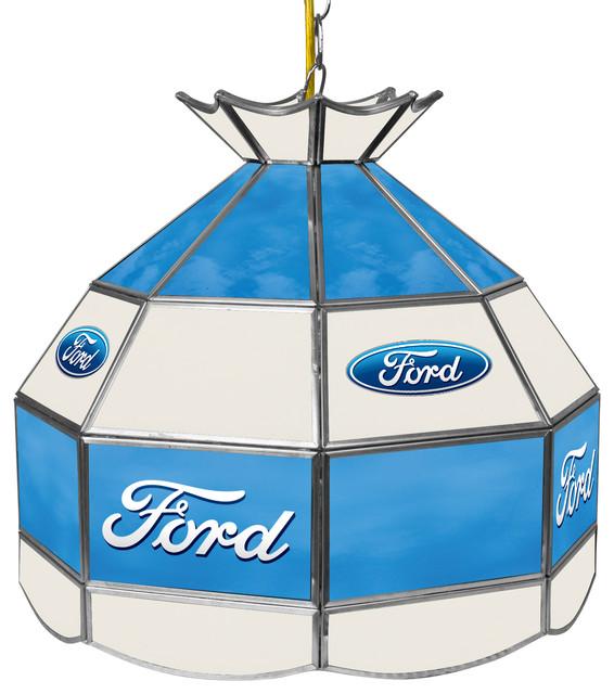 "Ford 16"" Handmade Tiffany Style Lamp"